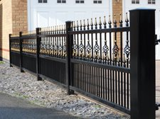 Kenilworth railings