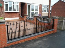Westminster design railings